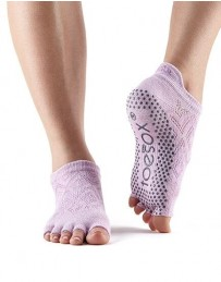 Half Toe Low Rise Grip Socks